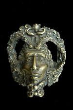 Green Man Belt Buckle - Bergamot Brass Works- Roman God D-180 Limited - Vintage