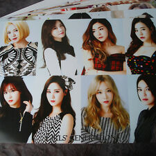 SNSD Girls' Generation 12cut Posters Collection 12PCS Bromide + SNSD Sticker