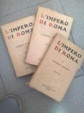 L'IMPERO DI ROMA MOMMSEN AEQUA 1936 OPERA COMPLETA 3 VOLUMI