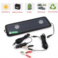 Brand New 12V 4.5W Solar Panel Trickle Car Battery Charger For Motorcycle Car AU