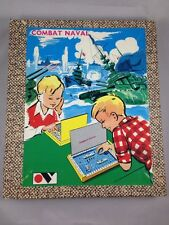 Vintage Battle Ship Game Combat Naval Made in France New in Box