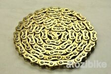 New YBN Extreme Heavy Duty Single Speed Bike Chain for BMX Track MK747 - Gold