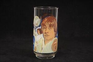 Vintage Star Wars 1977 Burger King Luke Skywalker Glass Cup