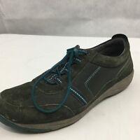 Dansko Women Helen Black Blue Suede Sneaker Sz 41 EU, US 10.5 11 Walking Hiking