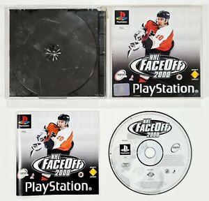 SONY PlayStation NHL FACE OFF 2000 dt PAL Eishockey/NHLPA/989 Sports