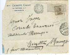 1922 MICHETTI 0,40 MARRONE VARIETA' DENTELLATURA FORTEMENTE SPOSTATA NEI 2 SENSI