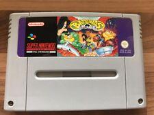 BATTLETOADS IN battlemaniacs Super Nintendo SNES REGNO UNITO PAL ** Spedizione il giorno stesso **