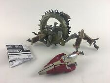 Lot STAR WARS Transformers General Grevious Wheel Bike 2005 Hasbro Action Figure