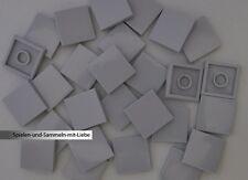 dark bluish gray Nr.6572 Lego 3068b Vierer 20 Fliesen 2x2 in  dunkelgrau