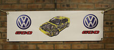 vw corrado g60 color large pvc  WORK SHOP BANNER garage  SHOW BANNER office