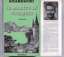 il marito in collegio - guareschi - edizione rizzoli 1944