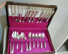 BLOSSOM TIME by INTERNATIONAL STERLING, SILVER FLATWARE SERVICE 8 SET 65 PIECES