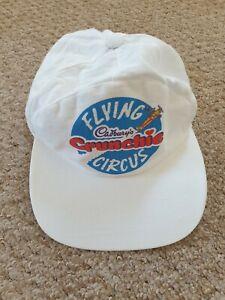 White Cadburys Crunchie Flying Circus Baseball cap Hat