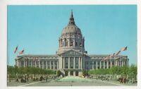 USA, San Francisco, City Hall & Civic Center Postcard, B232