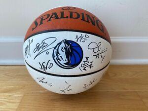 Dallas Mavericks Signed Autographed Team Ball 2017/18 Season Dirk Nowitzki