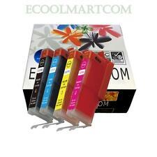 4pack CLI251XL ink set fits Canon PIXMA MG5420 MG5422 MG5520 MG5520BK Printer