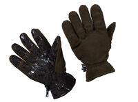Jagd Outdoorhandschuhe Handschuhe mit Gummigewebe & flauschigen Fleece  M-XXL