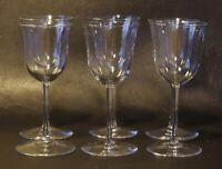 Josef Hoffmann 6 Schnapsgläser shot glasses Patrician Lobmeyr