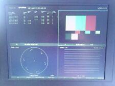 Videotek VTM-2000 Multiformat Waveform Vector SDI / Component On-Screen Monitor