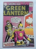 DC Showcase #23, 2nd appearance of Silver Age Green Lantern, 5.5/FN- grade Key
