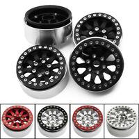 "1.9"" Alloy Beadlock Wheel Rim wheel weights for 1/10 RC Axial SCX10 TRX-4 D90"
