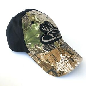 PRIMOS Hunting Hat - Camo/Black Adjustable Snap Back Closure - One Size Fits All