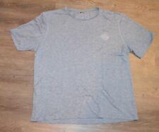 Iffley Road Cambrian Dry Gray Extra Large XL Woven Running Shirt Hidden Pocket