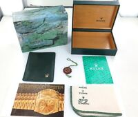1993 S406192 ROLEX SUBMARINER 16613 INNER & OUTER BOX, BOOKLETS, WALLET & CLOTH
