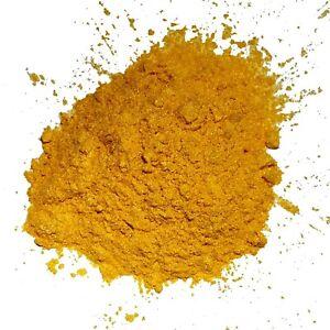 Pigmento Perlaceo IN Polvere Bottone D'Oro, A Mix Aux Resine Epoxy, PU Vernice