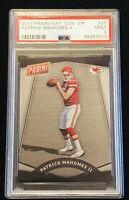 2017 Panini National Convention VIP Patrick Mahomes Rookie #25 PSA 9 MINT!