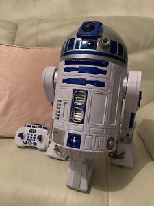 Star Wars R2D2 Remote Controlled Interactive Droid Thinkway Toys Read Descriptio