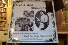 Pastor T.L. Barrett Like a Ship... (Without a Sail) LP sealed vinyl reissue