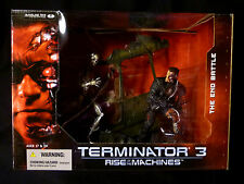 McFarlane Toys T3 Movie Set of  4 Terminator Act Figs & Diorama New from 2003