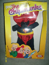 THE CHIPMUNKS 10 INCH PLUSH TOY OUTFIT