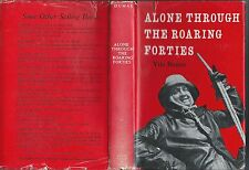 Alone through the roaring forties by vito dumas hc/dj pub alard coles ltd 1960