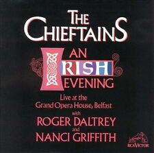 The Chieftains An Irish Evening Roger Daltrey Nanci Griffith Live Belfast CD