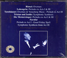 STOKOWSKI WAGNER Meistersinger Rienzi Tristan Parsifal Tannhäuser Lohhengrin 2CD