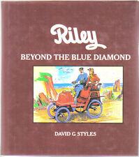 Riley Beyond The Blue Diamond Bicycle Nero Tricar Autovia + Riley Badges