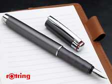 ROTRING SPECIAL EDITION  ESPRIT TELESCOPIC GRAPHITE  FOUNTAIN PEN  NEW IN BOX