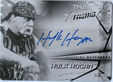 TNA Hulk Hogan 2010 Xtreme Black Printing Plate Authentic Autograph Card SN 1/1