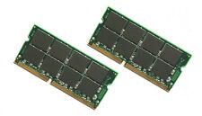 NEW! 1GB 2x512MB PC133 SODIMM Dell LATITUDE C400 MEMORY