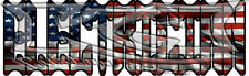 American Flag Electrician Decal/Sticker FREE SHIPPING!!