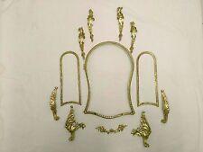élements ornements décoration en bronze de cartel horloge xviii eme
