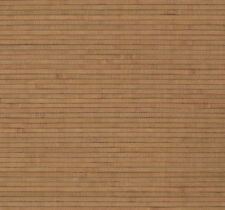 Copper Brown Bamboo Grass Grasscloth Wallpaper - Double Roll  BH1834
