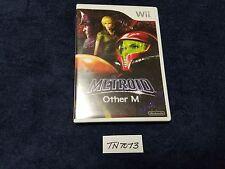 Metroid Other M * 2010 Nintendo Wii * Complete Mint * Samus