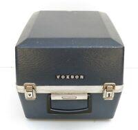 Box custodia rigida voxson per televisione anni 70 tv vintage box tv a tubo