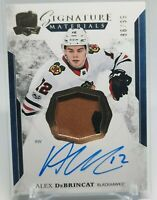 2017-18 The Cup Signature Materials Alex RPA DeBrincat 2CLR RC Patch Auto 86/99