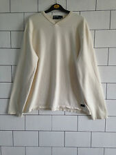 MENS URBAN VINTAGE RETRO RALPH LAUREN CREAM SWEATSHIRT SWEATER JUMPER UK LARGE
