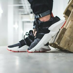 New Adidas originals Prophere Black/White/ Red CQ3022 Mens running Shoes SZ 8.5