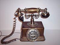 Vintage Style Push Button Desk Telephone